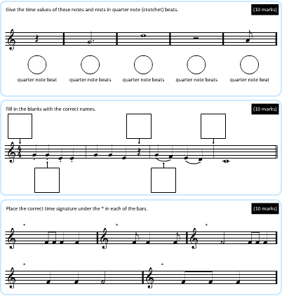 Beginner Music Theory Questions on Midisaurus Online